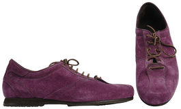 Male boots with laces Stock Images