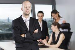 Male Boss Stock Image
