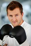 Male boxer Royalty Free Stock Images