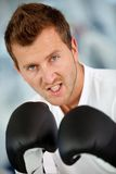 Male boxer Stock Photos