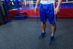 Male boxer legs Stock Photos