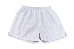 A male boxer shorts Stock Images