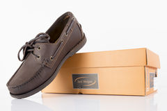 Male Brown Shoes Royalty Free Stock Photos