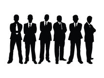 Male Business Team Stock Images
