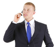Male business worker Royalty Free Stock Image