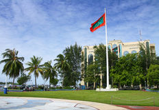 Male - capital of Maldives. City center of Male - capital island of Maldives Stock Photos