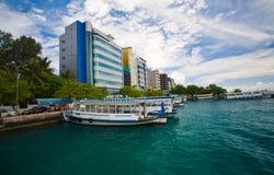 Male - capitale dei Maldives Fotografie Stock Libere da Diritti
