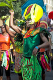 Male carnival dancer Royalty Free Stock Photo