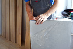 Male carpenter Royalty Free Stock Photos