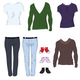 Male casual clothes Stock Photo