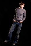Male casual fashion Stock Photo