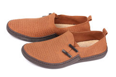 Male casual pair of shoes Stock Photo