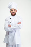 Male chef cook standing with arms folded Stock Image