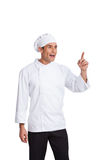 Male chef  making hand  gesturing Stock Photo