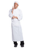 Male chef making hand  gesturing Stock Image