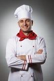 Male chef portrait Stock Image