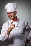 Male chef portrait Stock Images