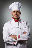 Male chef portrait Stock Photos