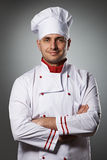 Male chef portrait Stock Photography