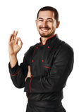 Male chef Stock Photo