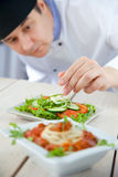 Male chef in restaurant royalty free stock image