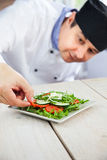 Male chef in restaurant Stock Photography