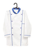 Male chef uniform on a hanger Stock Image