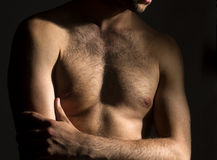 Male chest Stock Photos