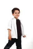 Male child with nice expression Royalty Free Stock Image