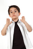 Male child with nice expression Royalty Free Stock Images