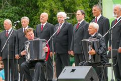 Male Choir Royalty Free Stock Image