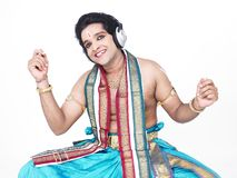 Male classical dancer from asia Stock Image