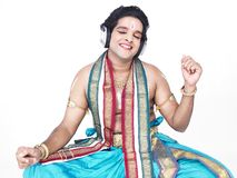 Male classical dancer from asia Royalty Free Stock Photo