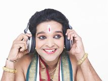 Male classical dancer from asia Royalty Free Stock Images