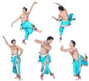 Male classical dancer from asia Stock Photography