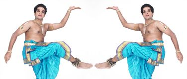 Male classical dancer from asia Stock Images