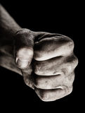 Male clenched fist Royalty Free Stock Image