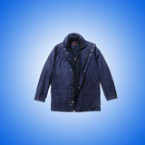 Male coat against the gradient. The male coat against the gradient Royalty Free Stock Image