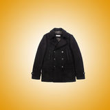 Male coat against the gradient. The male coat against the gradient Stock Photos