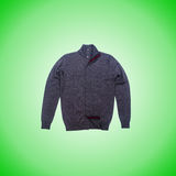 Male coat against the gradient. The male coat against the gradient Stock Images