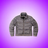 Male coat against the gradient. The male coat against the gradient Stock Image