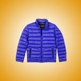 Male coat against the gradient. The male coat against the gradient Royalty Free Stock Photos