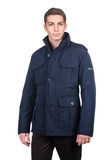 Male coat isolated Stock Images