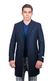 Male coat isolated Royalty Free Stock Image