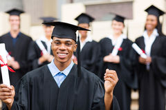 Male college graduate Stock Image