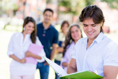 Male college student Stock Photos