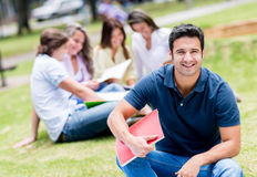 Male college student Royalty Free Stock Photography