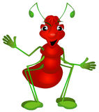 Male comic ant Royalty Free Stock Photography