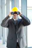 Male construction manager Stock Images