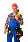 Male construction worker Royalty Free Stock Images